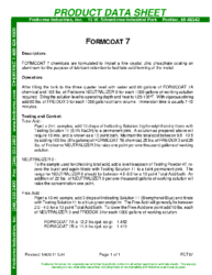 Formcoat 7 PDS