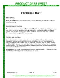 Formlube 15VP PDS