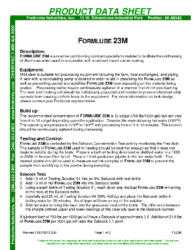 Formlube 23M PDS