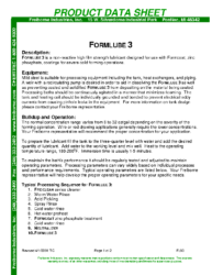 Formlube 3 PDS