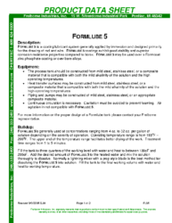 Formlube 5 PDS