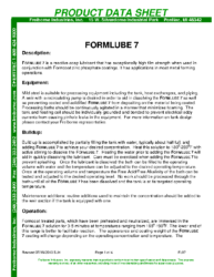 Formlube 7 PDS