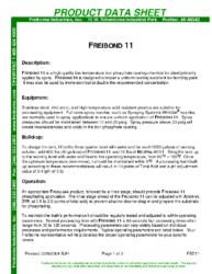Freibond 11 PDS