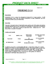 Freibond D14 PDS