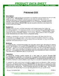 Freibond D33 PDS