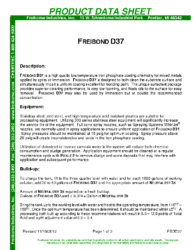 Freibond D37 PDS