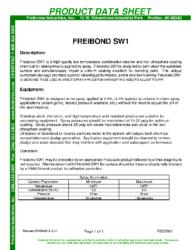 Freibond SW1 PDS