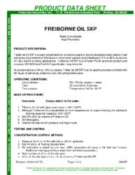 Freiborne Oil 5XP PDS