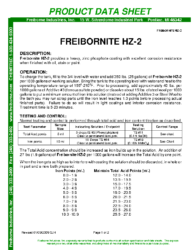 Freibornite HZ-2 PDS
