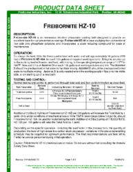 Freibornite HZ10 PDS