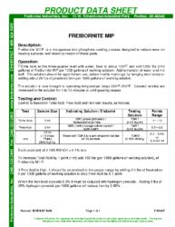 Freibornite MIP PDS