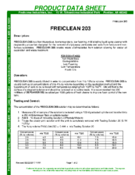 Freiclean 203 PDS