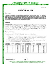 Freiclean 204 PDS