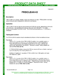 Freiclean 43 PDS