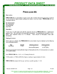 Freiclean 4A PDS