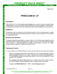 Freiclean 61-LF PDS