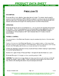 Freiclean 72 PDS