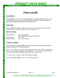 Freiclean 82 PDS