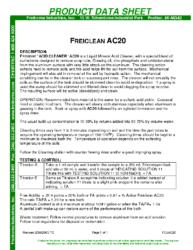 Freiclean AC20 PDS