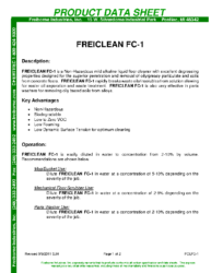 Freiclean FC-1 PDS