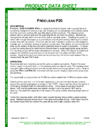 Freiclean P20 PDS