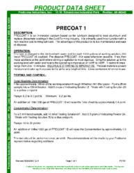 Precoat 1 PDS