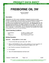 Freiborne OIl 3W PDS
