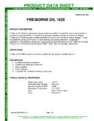 Freiborne Oil 1629 PDS