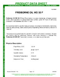 Freiborne Oil WD 50F