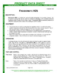 Freibornite HZ-6 PDS