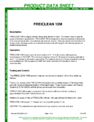 Freiclean 10M PDS
